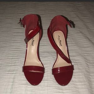 Red Heels sexy!! To tall for me.